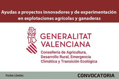 Ayudas a la innovación tecnológica agrícola y ganadera
