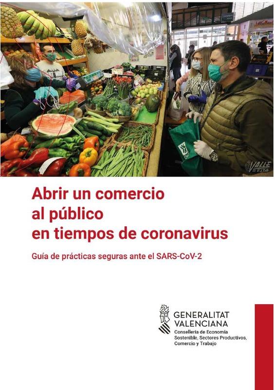 """Guía """"Abrir un comercio en tiempo de coronavirus: guía de prácticas seguras"""""""