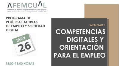 Webinar Competencias digitales y orientación para el empleo