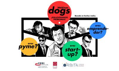 No more webinars!! nace Webinar Dogs