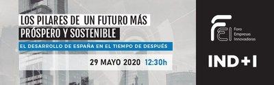 """Encuentro online: """"Propuestas para la reconstrucción de una economía sostenible"""""""
