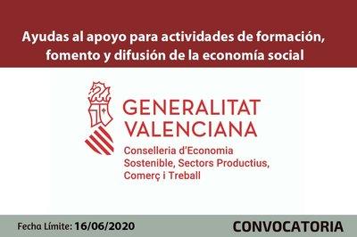 Ayudas fomento y difusión de la economía social