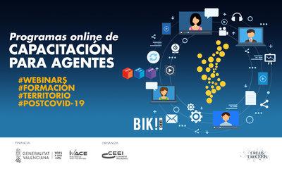 Programa capacitación on line para agentes del Ecosistema de de Emprendimiento de la Comunitat Valenciana