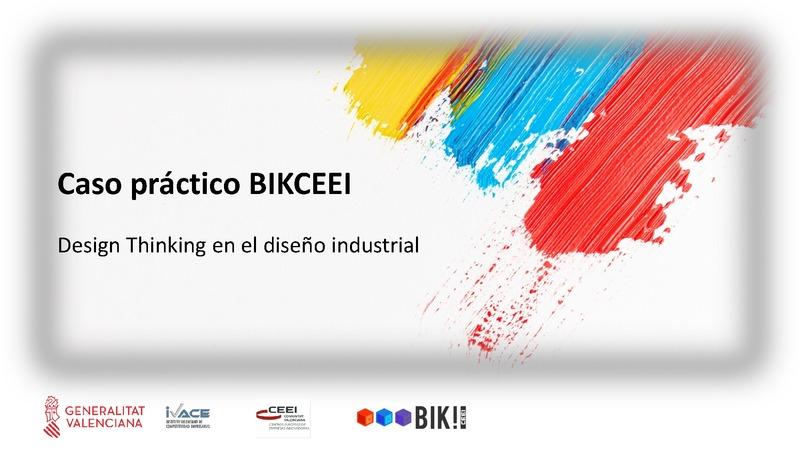 Caso práctico - Design Thinking en producto industrial (Portada)