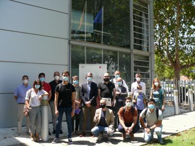 Foto de grupo III Programa Órbita