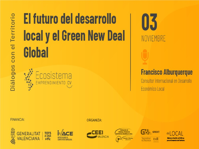 El futuro del desarrollo local y el Green New Deal Global