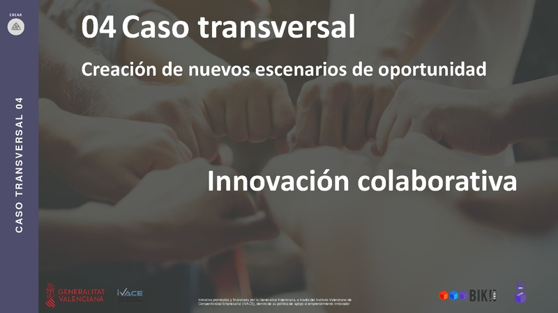 CASO TRANSVERSAL 04 Innovación Colaborativa