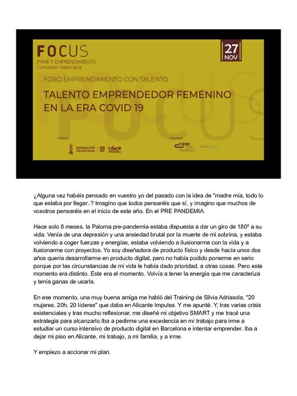 Ponencia de Paloma Esquitino