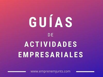 GUÍAS DE ACTIVIDADES EMPRESARIALES