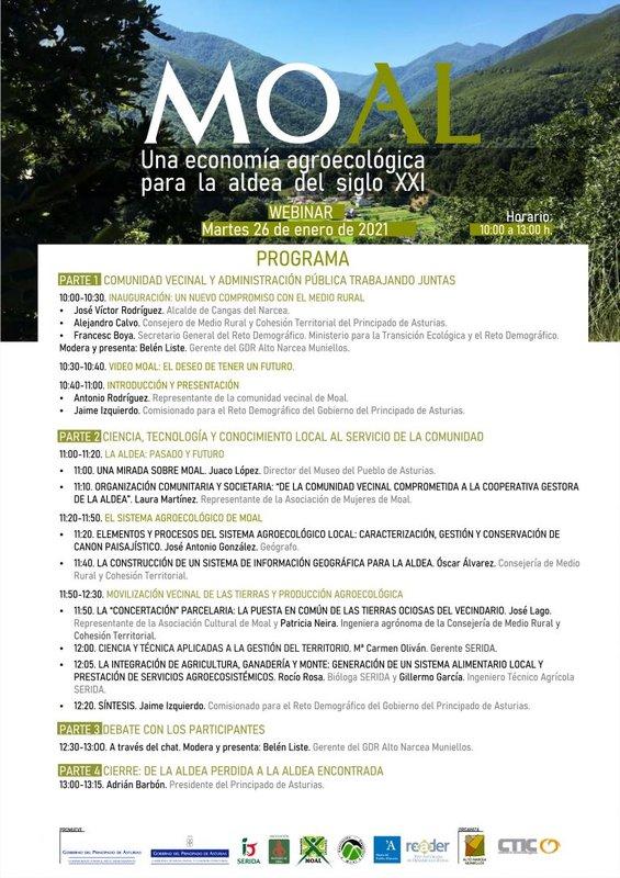 Webinar: «Moal: una economía agroecológica para la aldea del siglo XXI»