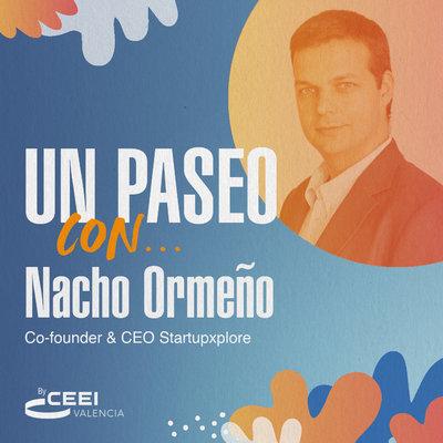 Nacho Ormeño, cofundador y CEO de Startupxplore