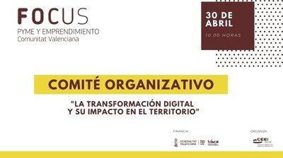 Comité organizativo Focus Pyme Transformación digital