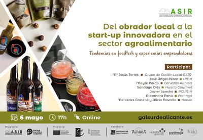Del obrador local a la start-up innovadora en el sector agroalimentario
