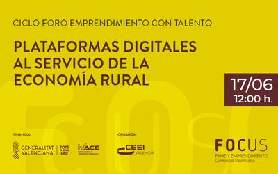 Foro plataformas digitales para el medio rural